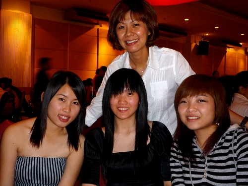 on the night of our company dinner
