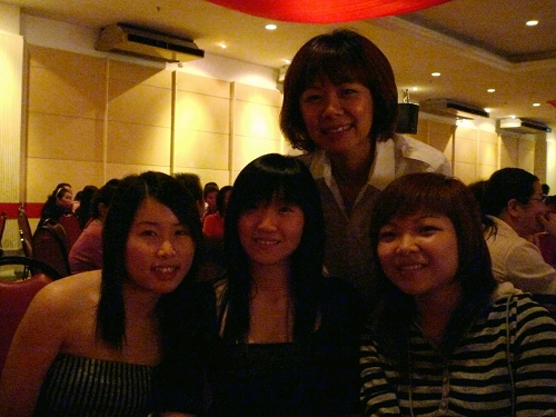 PeiPei,Cindy,Jenny and i