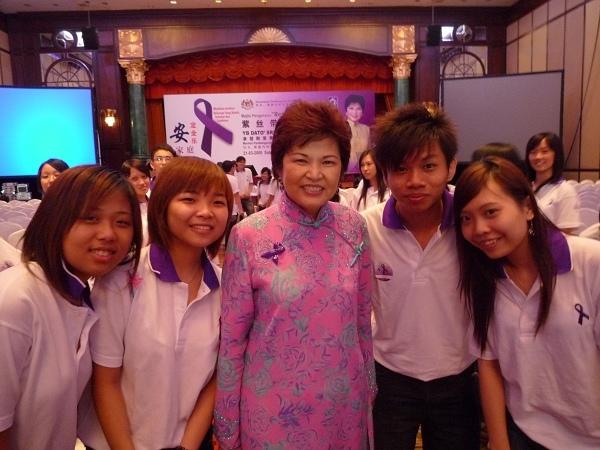 with Datuk 黄燕燕
