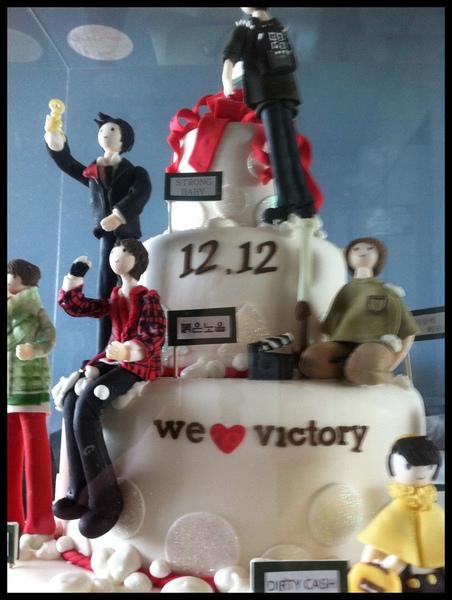 Seungri 20th birthdayday cake