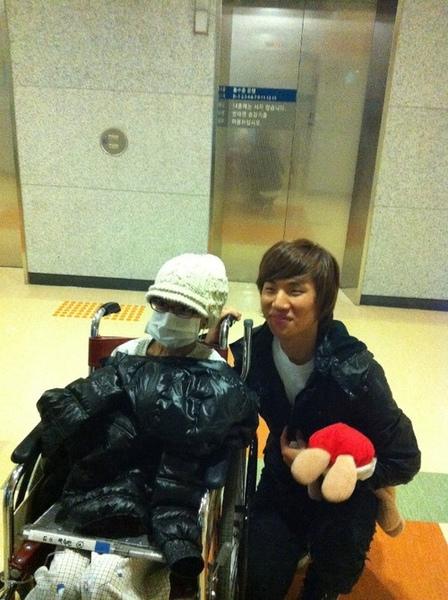 daesung visit