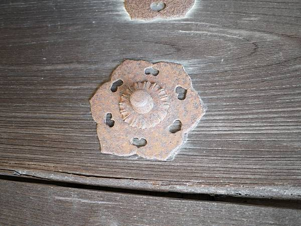 門上的木徽