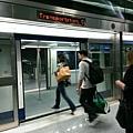 IAD 的航廈間電車