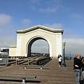 漁人碼頭的拱門