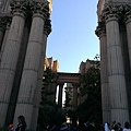 The Palace of Fine Arts 入口