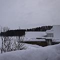 青森縣立美術館, 都是雪, 還我 Aomori-Ken~~