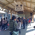 高雄車站月台