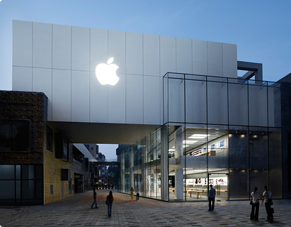 apple store@三里屯