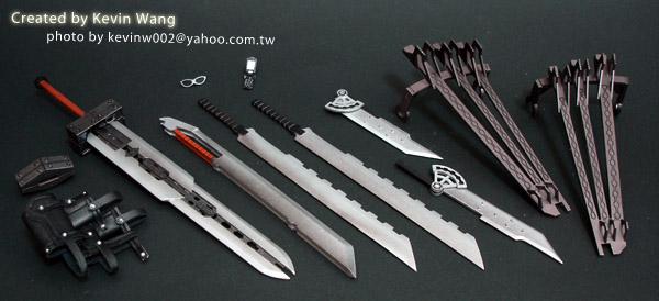 奇摩賣家 kevinw002 親手製作的克勞德配刀第二組成品-01