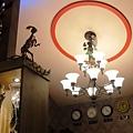 主臥室書房的天花板一景