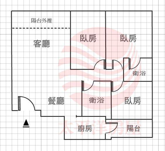 寶成3房車位格局圖