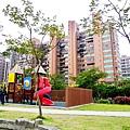龍騰華園社區大樓外觀2