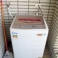 陽台之洗衣機