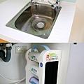 廚房流理臺及自來水濾芯