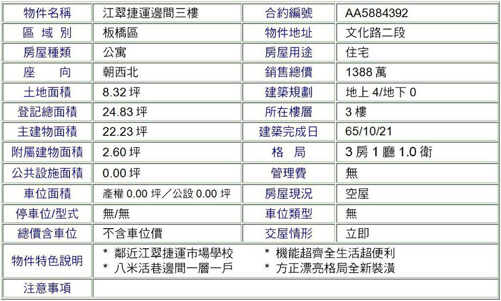 江翠捷運邊間三樓.JPG