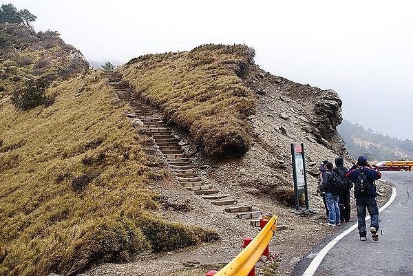 這才是真正的登山口