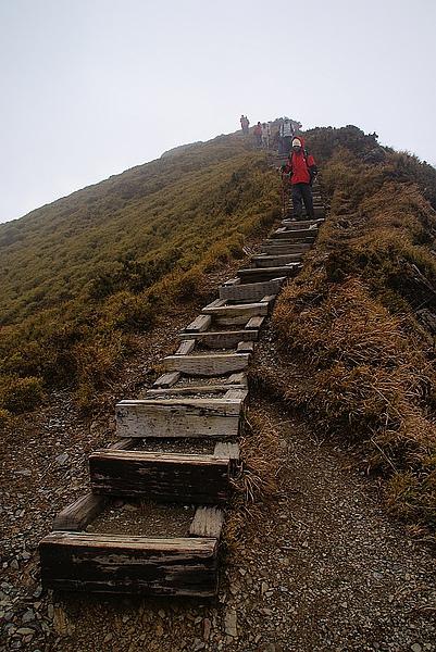 比較難走的階梯