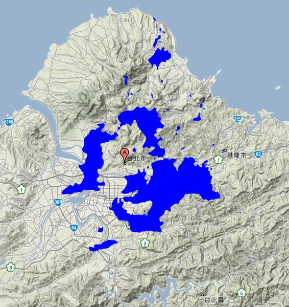 澎湖本島大小