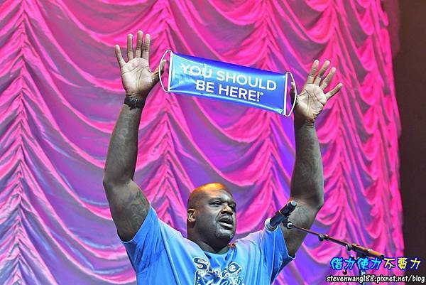 welcomed Shaquille O