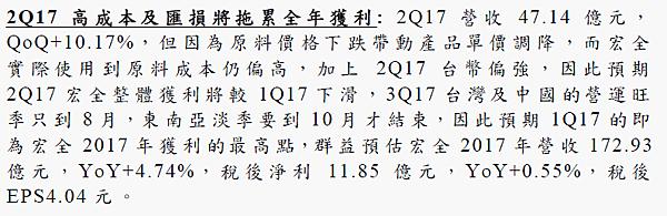 9939宏全_2017.Q2法人報告2017.08.11