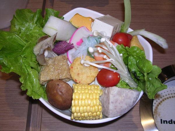 台糖涮涮鍋蔬菜