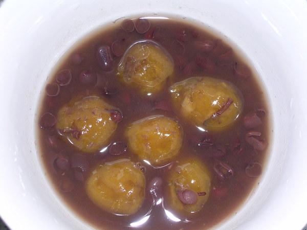 地瓜圓紅豆湯