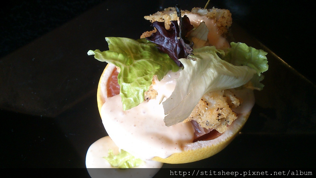 【小品】銀鱈葡萄柚