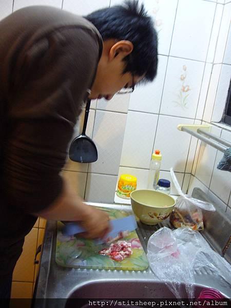 1020111回鍋肉 (2)