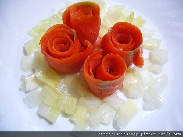 1020121洋蔥燻鮭魚玫瑰 (3)