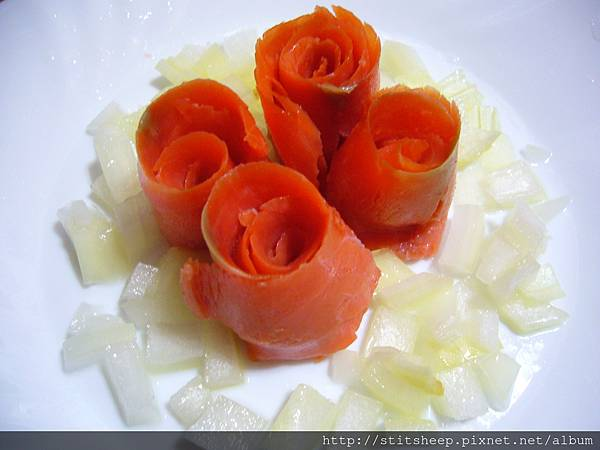 1020121洋蔥燻鮭魚玫瑰 (4)