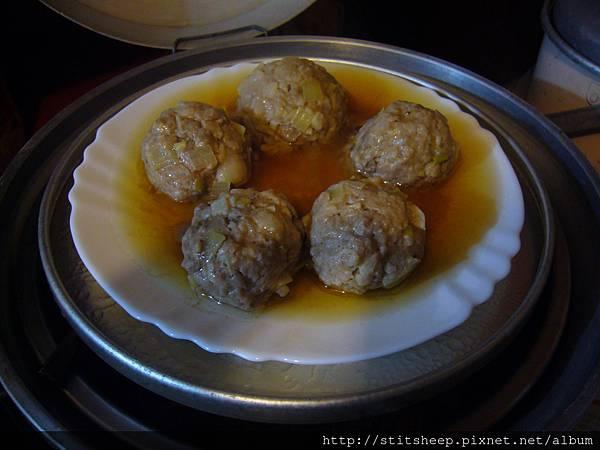 自製肉丸 (1)