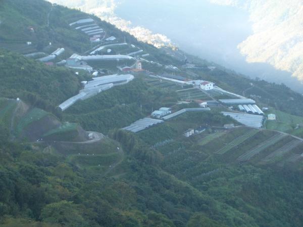 後陽台山景