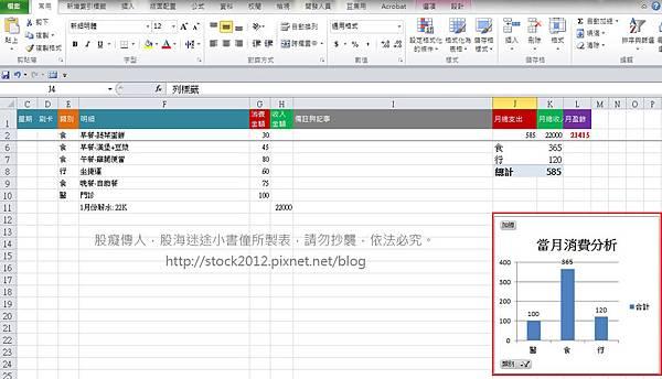 2017,2018 Excel電子記帳本多功能免費下載,app持續更新含全年自動分析消費類別與經濟能力,樞紐分析圖表 (推薦,格式,範例,現金流量,被動收入)6