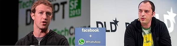 臉書 Facebook,FB 祖克柏 (Mark Zuckerberg) 5700億買下WhatsApp (教學,收費,備份,電腦版,Android,關注,追蹤,符號,封鎖,點頭之交,隱私,同步)