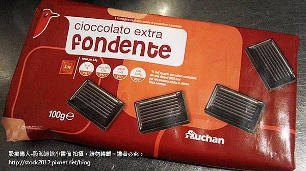 Auchan法國歐尚自有品牌,大潤發,義大利巧克力體驗試吃