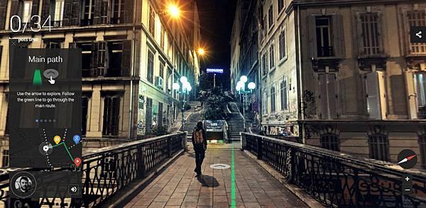 [科技.旅遊]Google谷歌Night Walk in Marseille Experience Project,讓你在家中就能逛浪漫之都法國的夜景 (3)