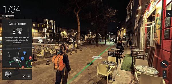 [科技.旅遊]Google谷歌Night Walk in Marseille Experience Project,讓你在家中就能逛浪漫之都法國的夜景 (6)