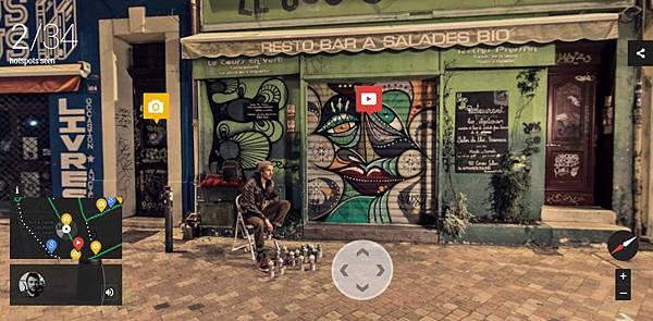 [科技.旅遊]Google谷歌Night Walk in Marseille Experience Project,讓你在家中就能逛浪漫之都法國的夜景 (8)