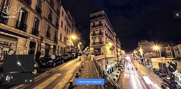 [科技.旅遊]Google谷歌Night Walk in Marseille Experience Project,讓你在家中就能逛浪漫之都法國的夜景 (12)