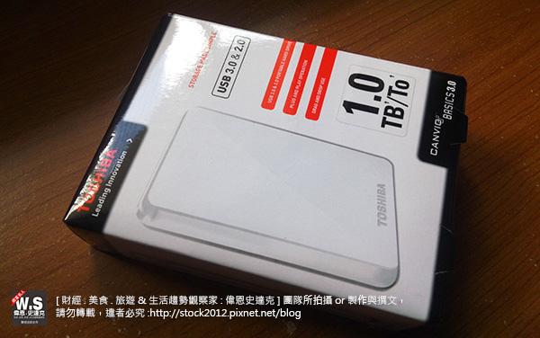[開箱] Toshiba 1Tb USB 3.0 黑/白靚潮外接行動硬碟,東芝推薦評價輕巧簡便,穩定安靜速度快儲存碟 (比較分析,開機,格式化,分割,USB3.0,速度,容量