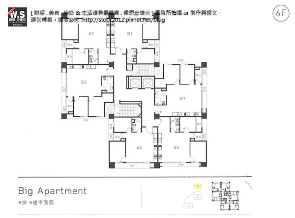 建築雪人BIG Apartment小宅革命_B棟2D平面圖