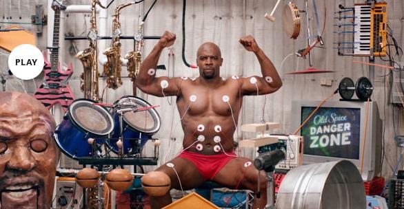 人體肌肉打擊樂,肌肉打鼓,猛男Terry同時操作多種樂器 (music muscle terry) (林逸欣,女子一人樂團,蔡依林,舞孃,街頭藝人,Old Spice)