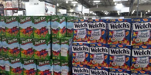 [食記]TreeTop果汁軟糖,樹頂水果軟糖_開箱好市多COSTCO整箱80包2公斤 (推薦,零嘴,美食,果汁,Fruit Snacks,walk,juice)