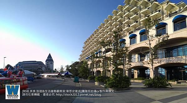 淡水漁人碼頭福容飯店,餐廳,情人塔,阿基師觀海茶樓1