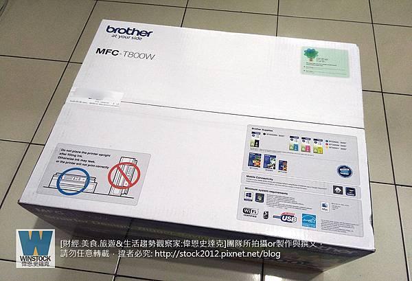 [開箱]日本品牌Brother印表機評價推薦MFC-T800W連續供墨超大印量事務機,首創墨水盒免外掛不佔空間(噴頭,維修,卡紙,離線,無法列印,A3,specs) (1)