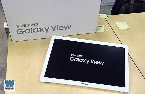Galaxy View tablet,開箱,體驗,samsung 規格18.4吋可攜式平板台灣上市,兼具電腦,電視,App遊戲娛樂