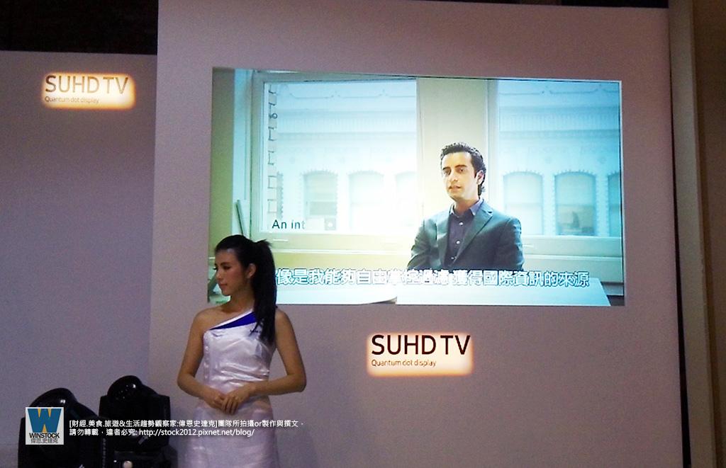 三星Samsung,SUHD TV超4K電視體驗會 2016智慧電視再進化,彎曲曲面螢幕高擬真度,HDR 1000真實色彩呈現 (ULTRA HD,量子點顯色技術) (13)
