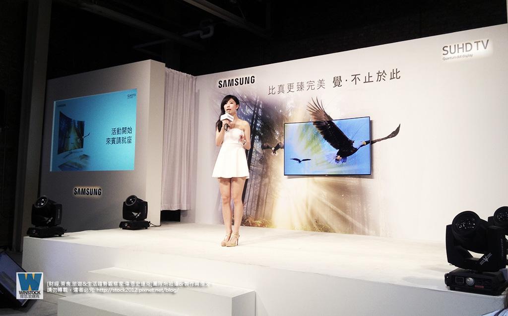 三星Samsung,SUHD TV超4K電視體驗會 2016智慧電視再進化,彎曲曲面螢幕高擬真度,HDR 1000真實色彩呈現 (ULTRA HD,量子點顯色技術) (11)