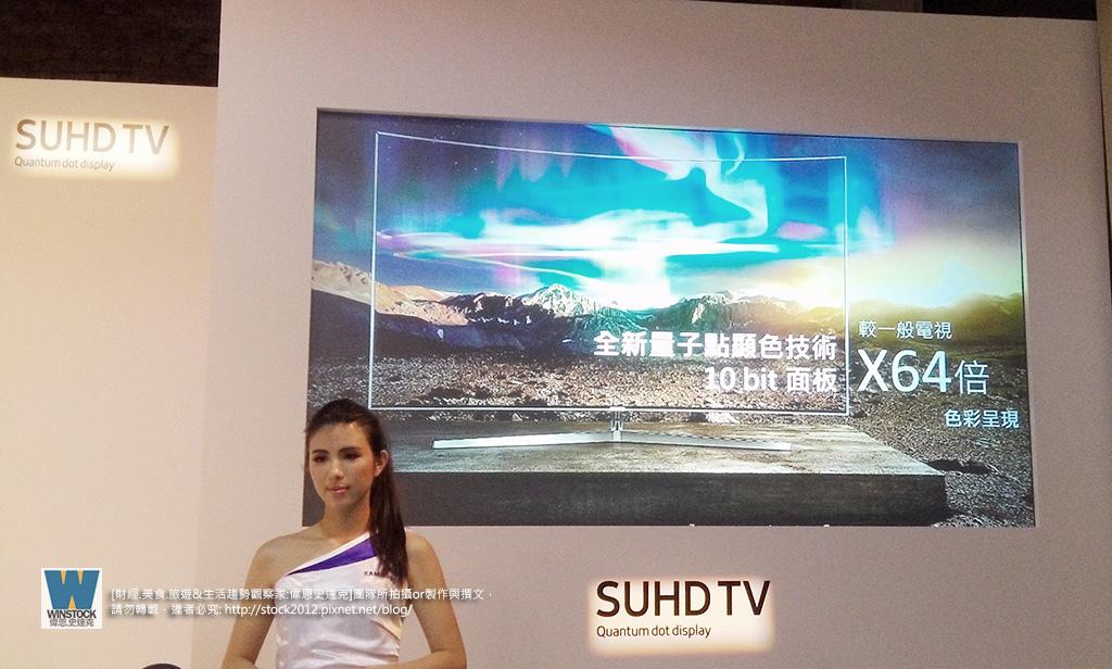 三星Samsung,SUHD TV超4K電視體驗會 2016智慧電視再進化,彎曲曲面螢幕高擬真度,HDR 1000真實色彩呈現 (ULTRA HD,量子點顯色技術) (16)