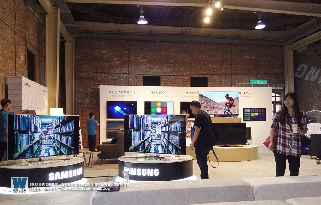 三星Samsung,SUHD TV超4K電視體驗會 2016智慧電視再進化,彎曲曲面螢幕高擬真度,HDR 1000真實色彩呈現 (ULTRA HD,量子點顯色技術) (7)